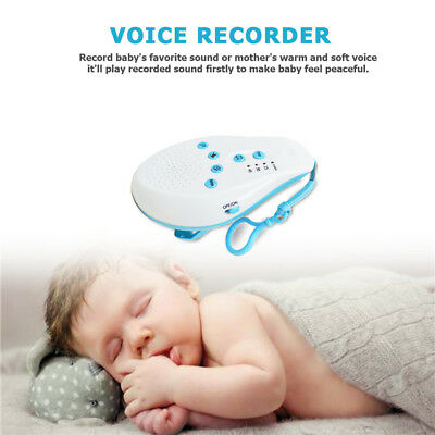 Professional Baby Therapy Sound Machine White Noise Portable Sleep Soother relax