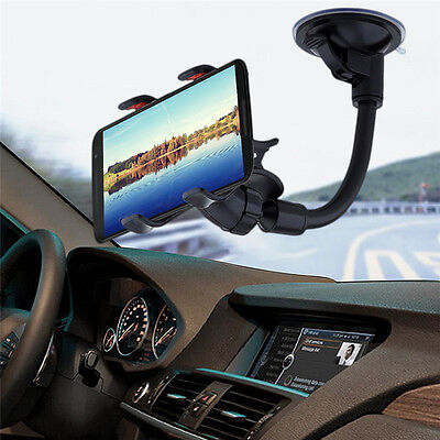 Universal 360°Rotating Car Windshield Mount Holder Stand-Bracket for CELL Phone