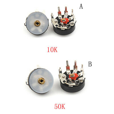 10pcs Potentiometer RV12MM 10K 50K Radio Potentiometer With Switch JDUK