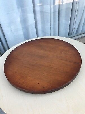 TELL CITY LAZY SUSAN - Hard Rock Maple Very Good Condition