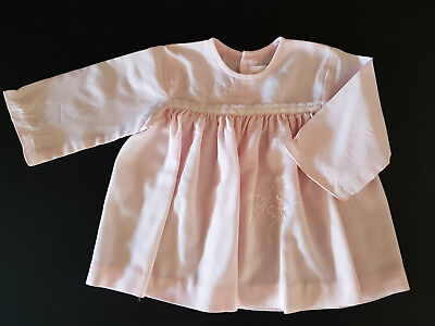 VINTAGE BABY 1960's MAUDE WILSON DRESS ~ COLLECTORS, REBORN DOLLS, PHOTO PROP