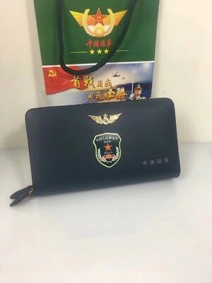 18's series China PLA Army Zhurihe Base Officer Genuine Leather Wallet