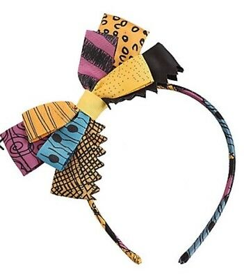 Disney THE NIGHTMARE BEFORE CHRISTMAS SALLY BOW HEADBAND