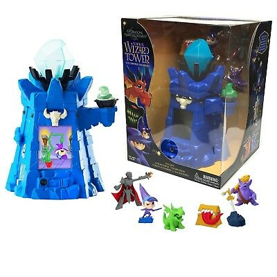 Of Dragons, Fairies, and Wizards Keep Playset and Accessories, Blue, New