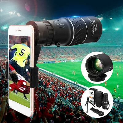 16x52 Zoom Monocular Telescope Lens Camera Scope for iPhone X / 8 S9 Note 8 G6
