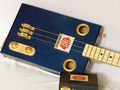 "Cigar Box Guitar ""Blue Sky"""