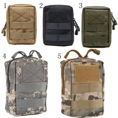 Outdoors EDC Tactical Military Molle Waist Pack Utility Pouch Bag Phone Case