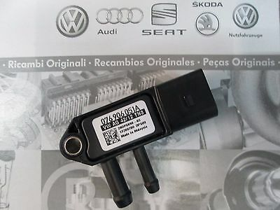 Original Audi VW Differenzdrucksensor 076906051A Neu G450 Partikelfilter Sensor