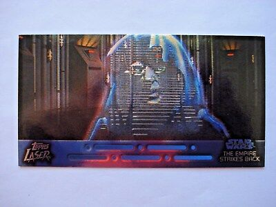 1997 Topps Star Wars Trilogy *laser Cut* Chase Card 4 Of 6