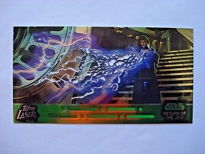 1997 Topps Star Wars Trilogy *laser Cut* Chase Card 6 Of 6