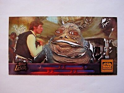 1997 Topps Star Wars Trilogy Special Edition *laser Cut* Chase Card 2 Of 6
