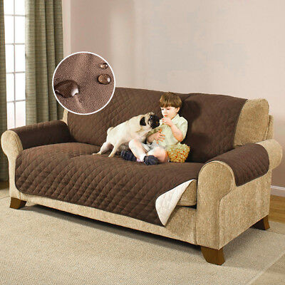 1/2/3 Seater Sofa Couch Furniture Slip Cover Pet Protector Throw Water Resistant