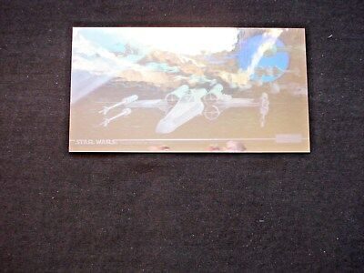 1997 Topps Star Wars Trilogy Special Edition *hologram* Chase Card 1 Of 2