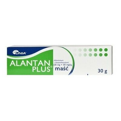 Alantan Plus Ointment Sunburns, Nappy Rash, Eczema, Dry Skin, Small Wounds 30g