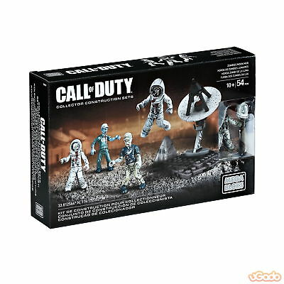 Mega Bloks CNG79 Call Of Duty Collector Construction Set Of 4 Zombies Moon Mob