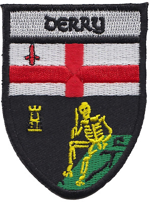 Wexford County Ireland Irish Flag Embroidered Badge Patch