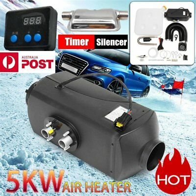 Diesel Air Heater 12V 5KW Tank Vent Duct Thermostat For Caravan Motorhome RV AU