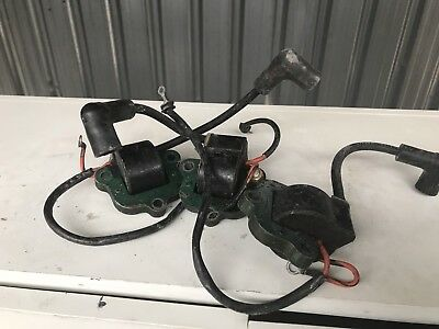 60hp 65hp 70hp 75hp evinrude Johnson outboard  coils X 3 580821 58216 584632