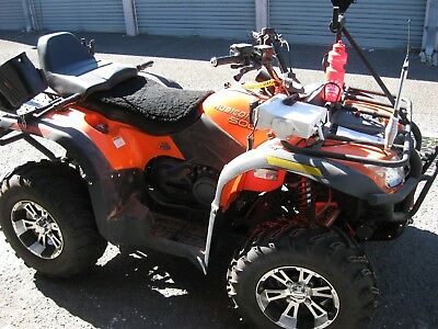 Quad Bike Rubicon 500cc 4x4  with 8x5 trailer