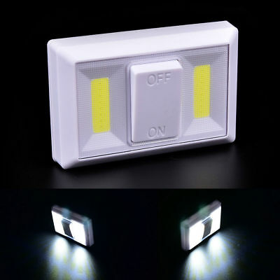 ABS COB LED Wall Switch Wireless Armadio Cordless Luce Notturna a BATTERIA