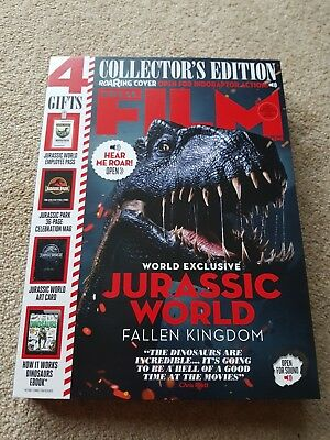 Total Film Collectors Edition Roaring Cover June 2018 Jurassic world