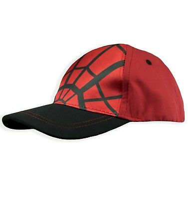 ... red 38a4b 49e9a reduced spiderman marvel boys baseball cap hats summer  sun 2 10 years 52 54 cm 1e93a ... 57786dae821a