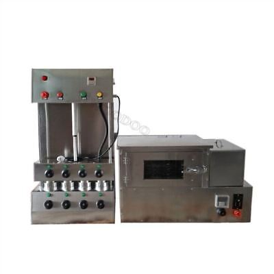 Commercial Pizza Cone Forming Making Machine With Pizza Rotational Oven 220V cy
