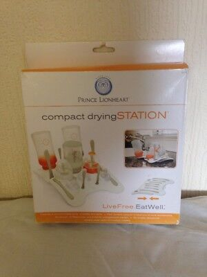 Prince Lionheart Compact Drying Station Baby,bottles,washing NEW