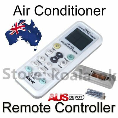 UNIVERSAL AIR CON CONDITIONER A/C REMOTE CONTROL -1000 In 1 - Suit Most Brand &@