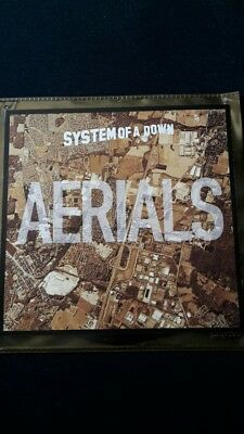 """System of a down aerials 7"""" EP Single vinyl rare"""