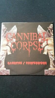 "Cannibal Corpse Sacrifice / Confessions 7"" EP Single limited rare"