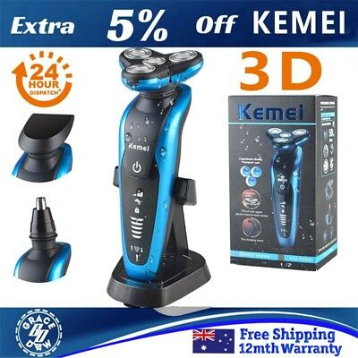 KEMEI Men Nose Ear Hair Removal Trimmer Wet and dry Electric Shaver Razor LH