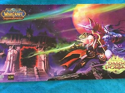 Yugioh / magic / tcg spielmatte playmat wow World of warcraft neuwertig