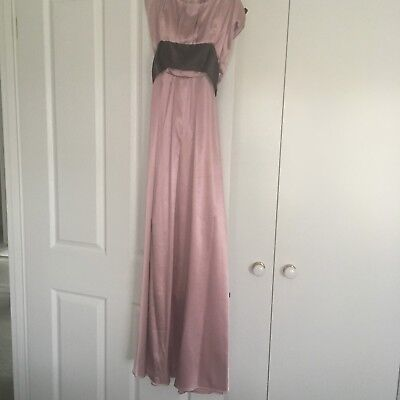 Bariano Strapless Gown - Size 10 (Formal/Bridesmaid)