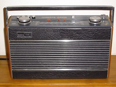 Vintage Roberts Radio with Queens Logo - Works Well - includes Cord