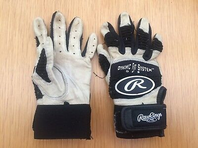 Rawlings Youth Batting Gloves - Worn age 8 - 10 years
