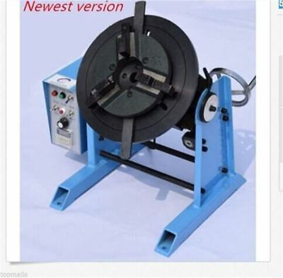 220V 50Kg Duty Turntable Timing With 200Mm Chuck Machine Welding Positioner wx