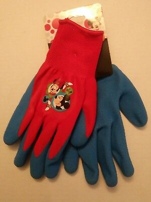 NWT Disney Kids Garden Gloves- Mickey Mouse Clubhouse, Minnie Mouse, Princesses