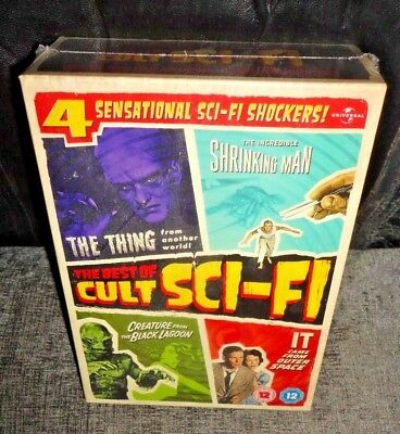 The Best Of Cult Sci-Fi (DVD, 2011, 4-Discs) SEALED