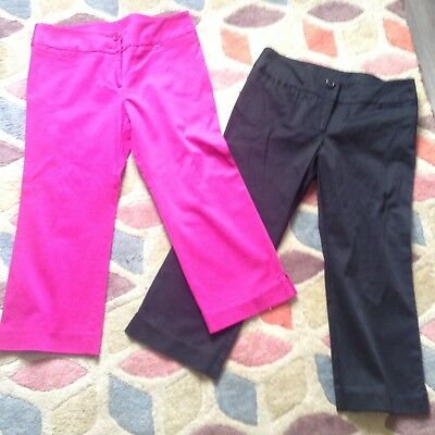Job Lot Of Cropped Summer Trousers Size 10