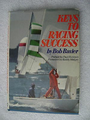 Keys To Racing Success Book Sailing Maritime Nautical Marine (#037)