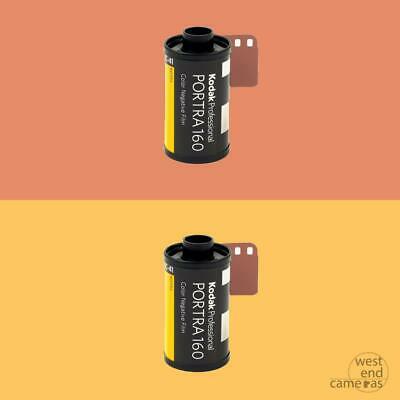 Kodak Portra 160 35mm 36exp - TWIN PACK- FREE POST