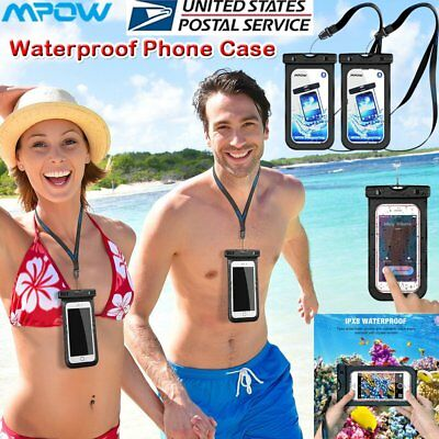 MPOW Floating Waterproof Bag Underwater Pouch Dry Case Phone Cover Universal New