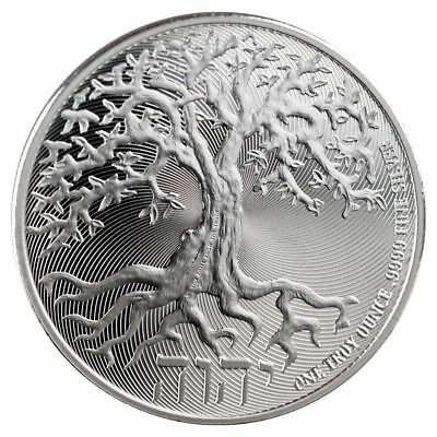 2018 1 oz Niue Silver $2 Tree of Life Coin (BU)