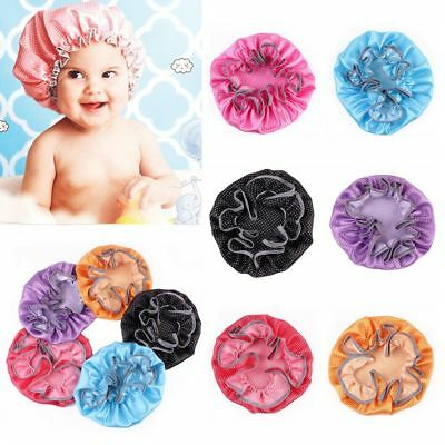Wash Tool Shampoo Protect Hair Elastic Bath Hat Waterproof Baby Shower Cap