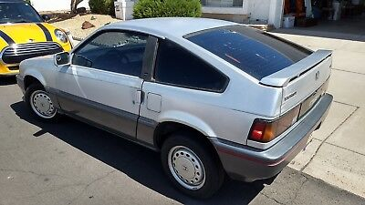 1987 Honda CRX HF Honda CRX HF - ALL ORIGINAL SURVIVOR!