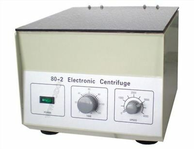 80-2 Electric Centrifuge Lab Medical Practice Timer 4000 Rpm 20 Ml × 12 1795* ve