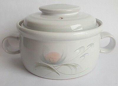 Vintage Denby 'Whisper' Lidded Casserole, Designed by Thelma Hague in the 1970's