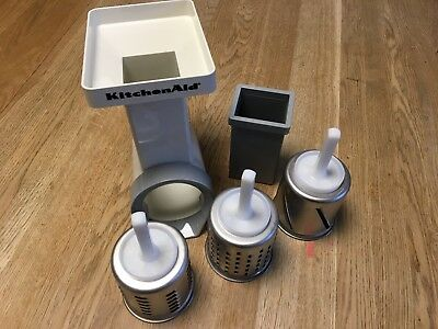 Kitchenaid Mvsa Rotor Slicer Shredder And Grater - Stand Mixer Attachment Tool