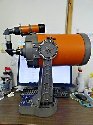 Vintage Celestron C8 Telescope with 8 x 50 finder scope and 26mm plossl eyepiece